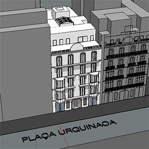 Urquinaona. Estudio energético edificio plurifamiliar