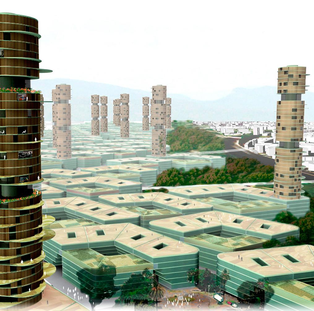 Besós Sostenible Torre de Jardines Picharchitects arquitectura Sostenible en Barcelona