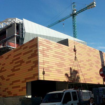 """In Process Edificio Multifuncional """"FONDO"""". Santa Coloma de Gramanet. Barcelona. (III)"""
