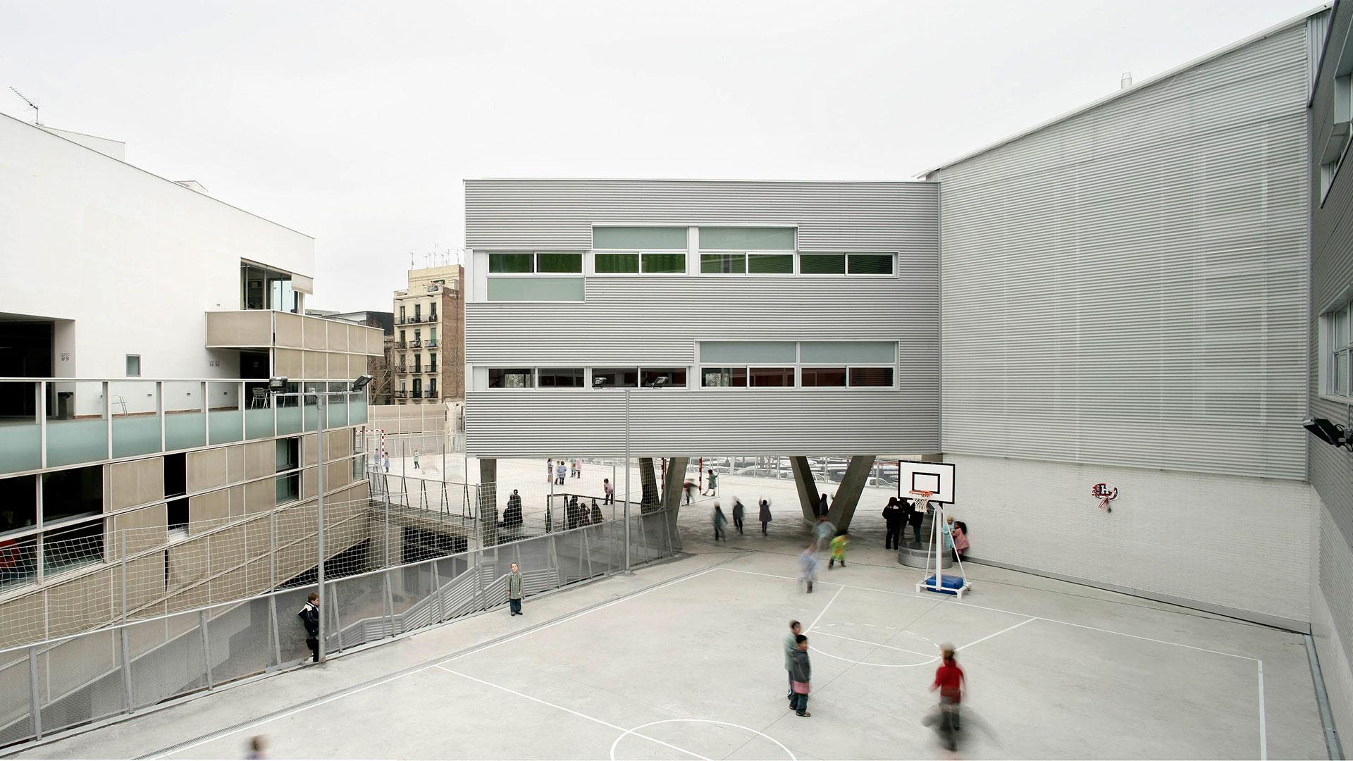 Escuela El Tren de Fort Pienc en Barcelona