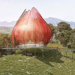 Pabellón para la Expo de Horticultura 2014 en Qingdao