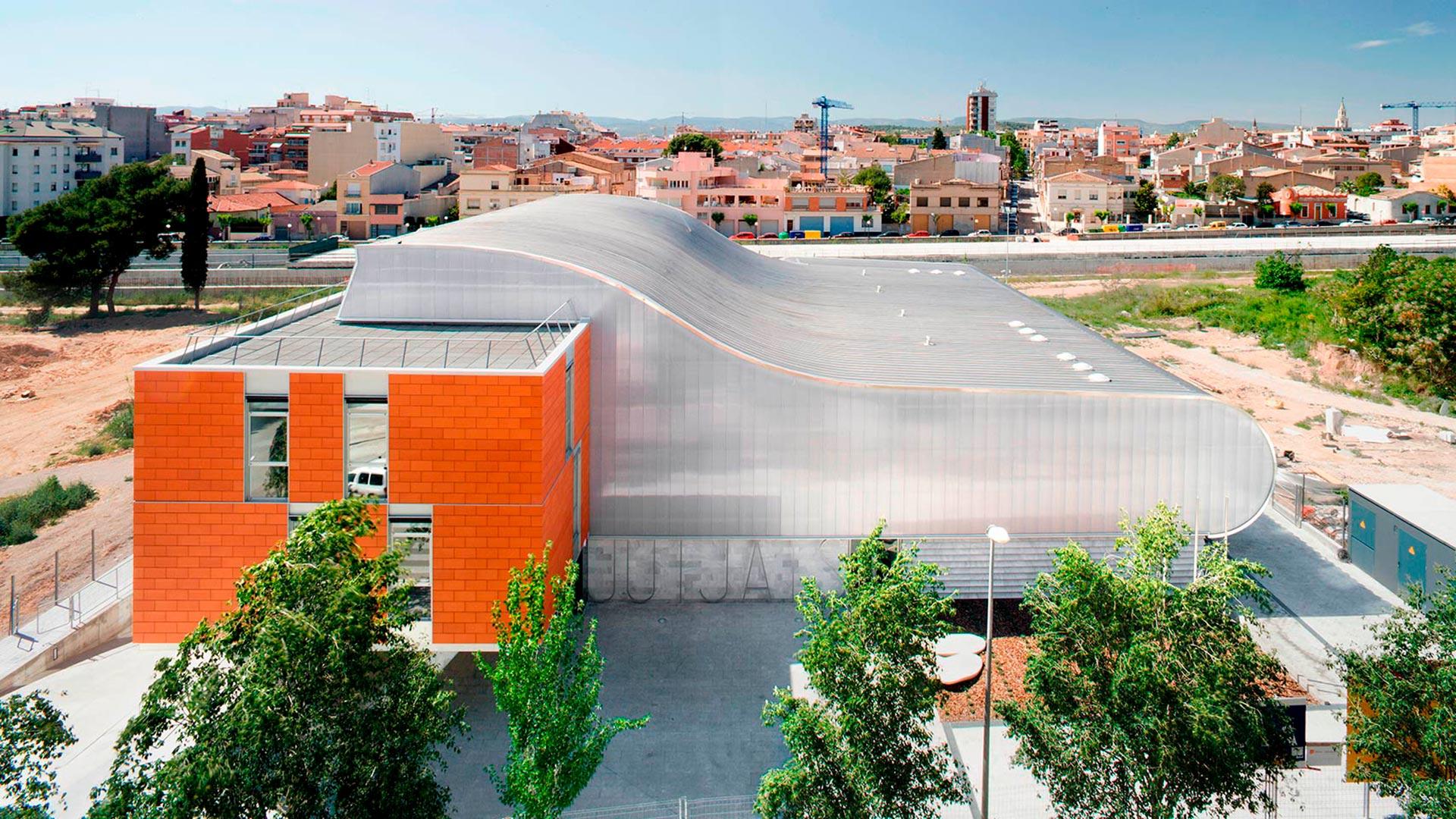 Edificio Judicial en Vilafranca del Penedès, Barcelona