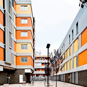 Bloque de viviendas en Mataró