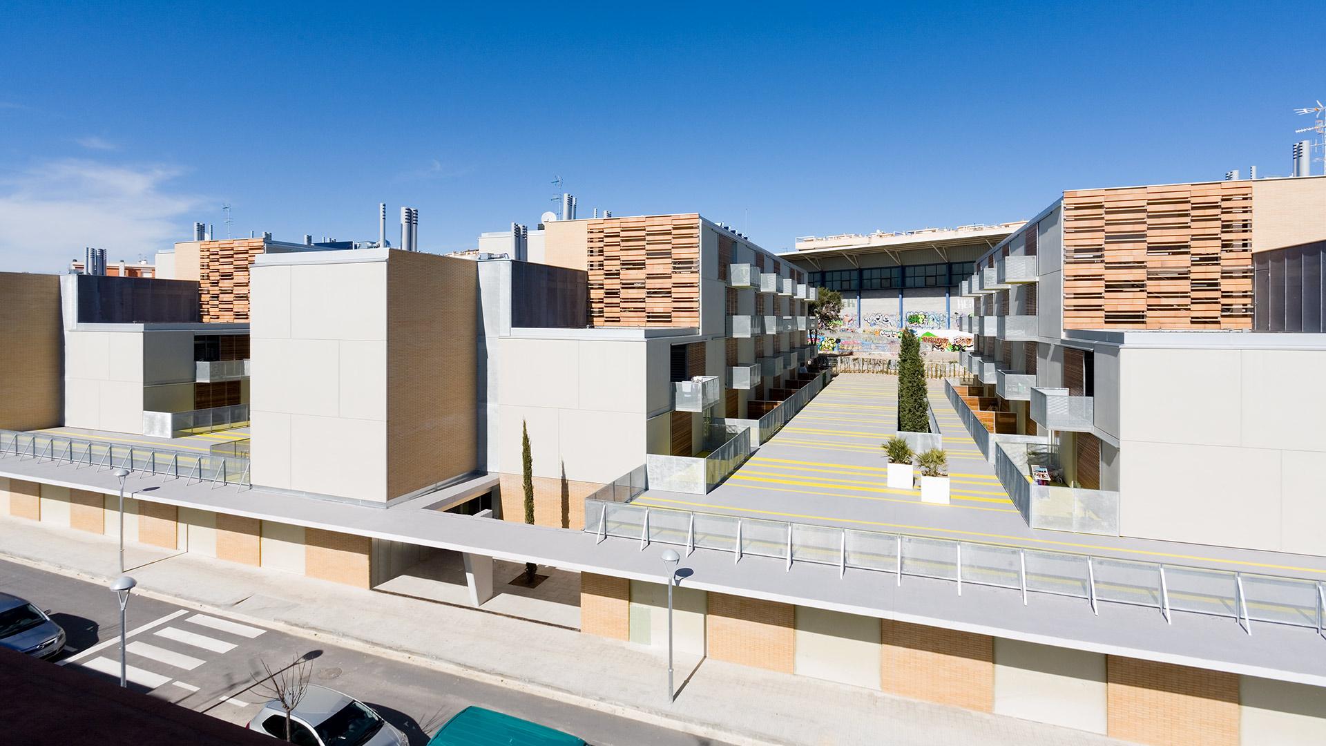 Bloque Viviendas en Sitges Picharchitects arquitectura sostenible