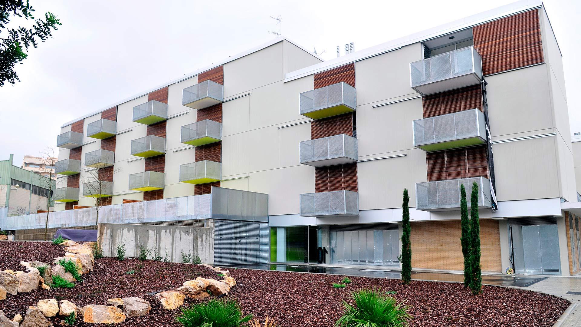 Bloque de viviendas sociales en Sitges