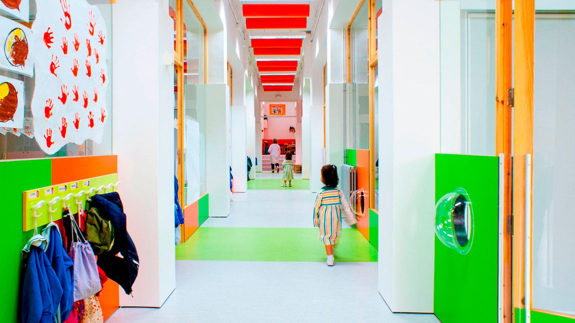 """Reforma de P3-P4-P5 en la escuela """"Teresianas""""-Ganduxer en Barcelona"""