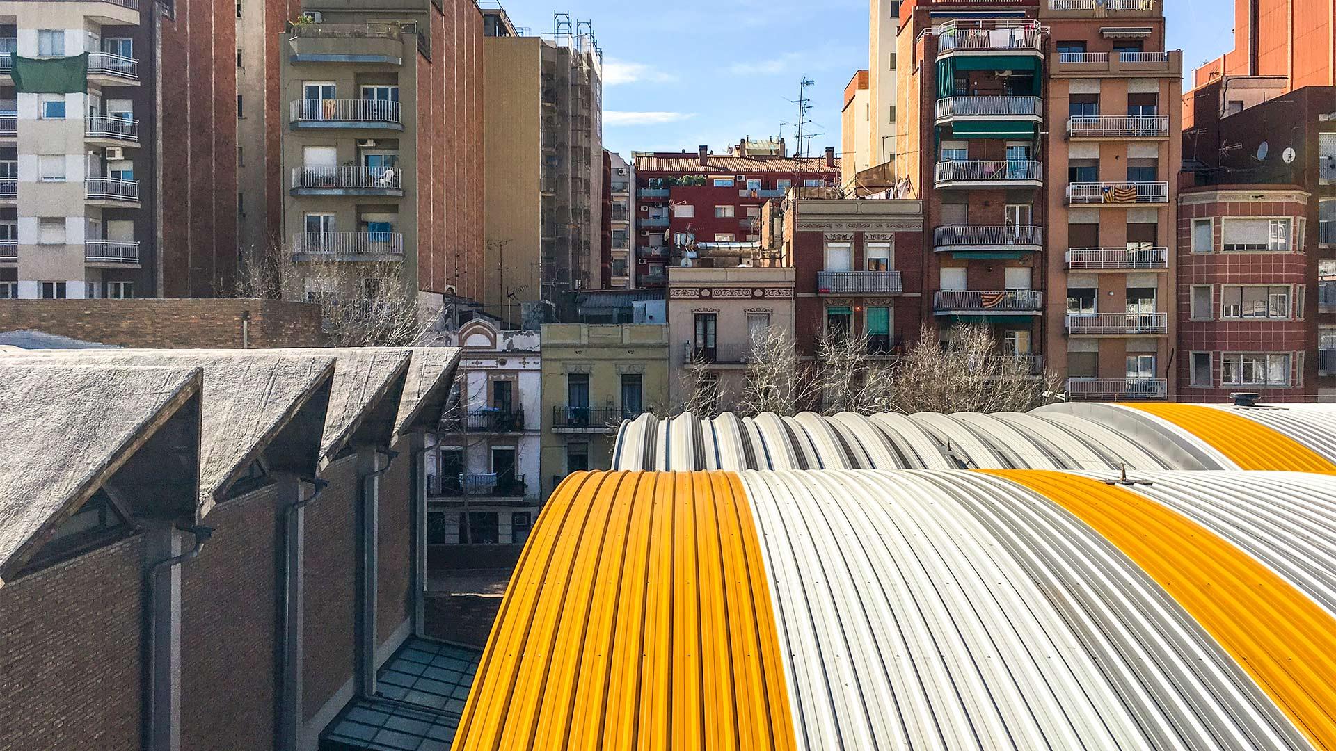 centro civico les corts picharchitects barcelona sostenibilidad