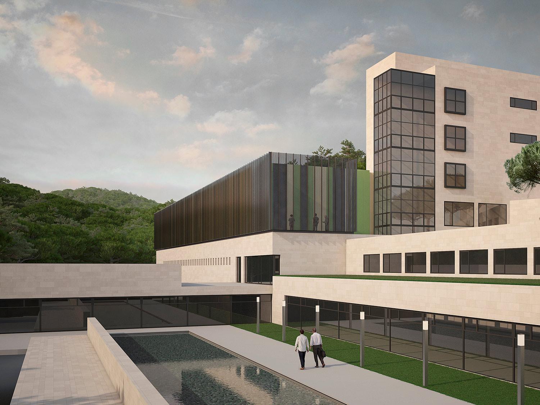 Ampliación Hospital Blanes Picharchitects Barcelona Arquitectura Sostenible