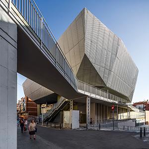 Mercado Multifuncional Fondo Santa Coloma de Gramanet Barcelona España Picharchitects Arquitectura Sostenible