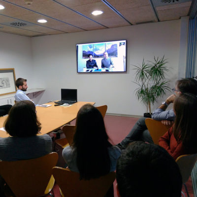 Reunión de intercambio Barcelona, España - Monterrey-México. Arquitectura sostenible