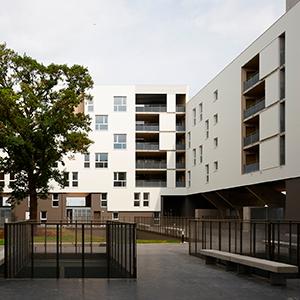 Viviendas sociales en Rennes Francia Picharchitects Barcelona arquitectura sostenible