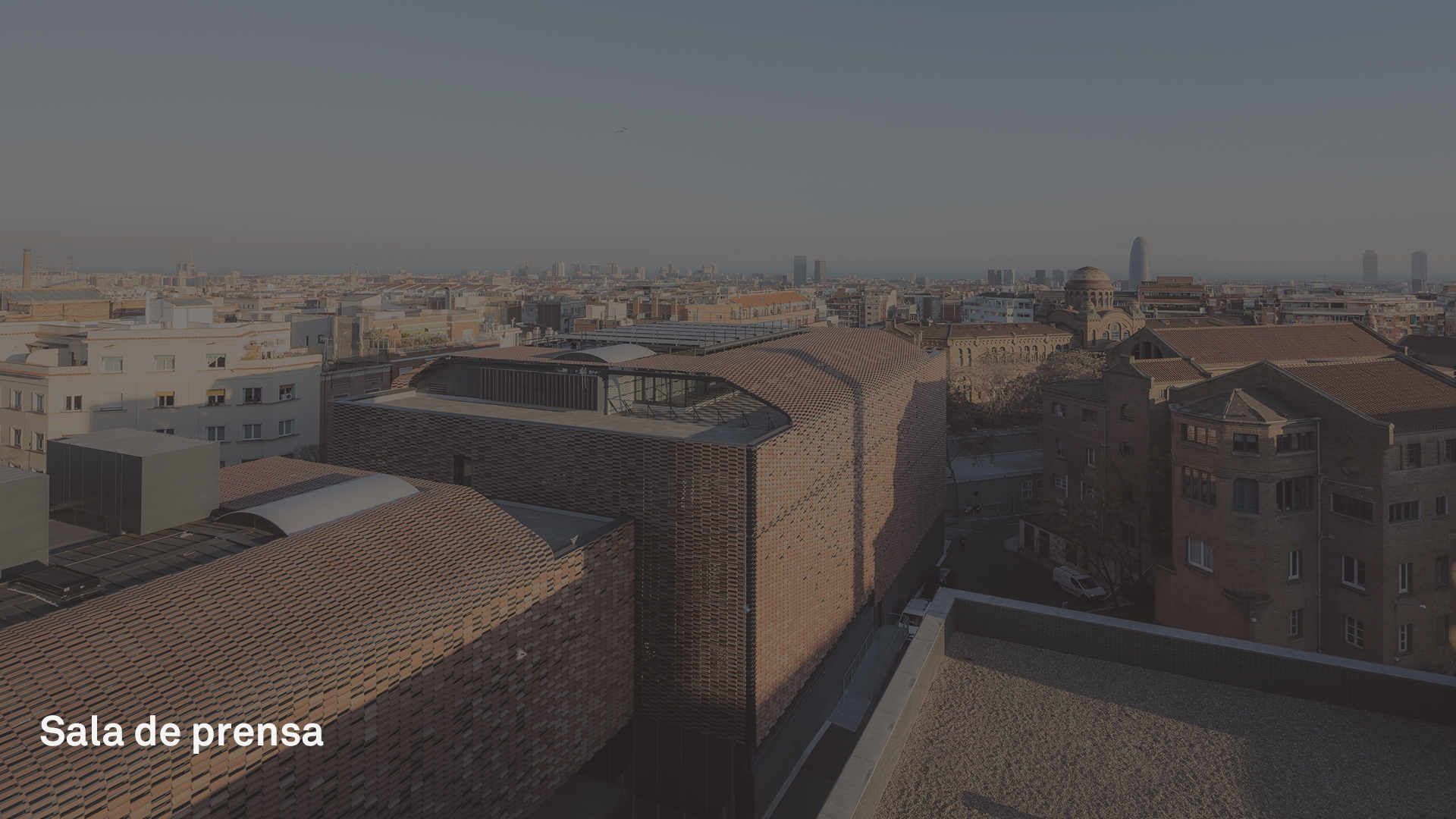 Sala de Prensa Picharchitects-PichAguilera